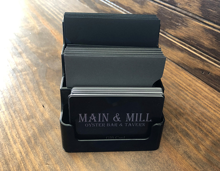 Main and Mill Gift Certificates